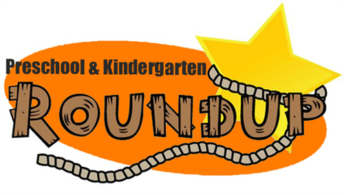 Pre-K and Kindergarten Round Up Logo