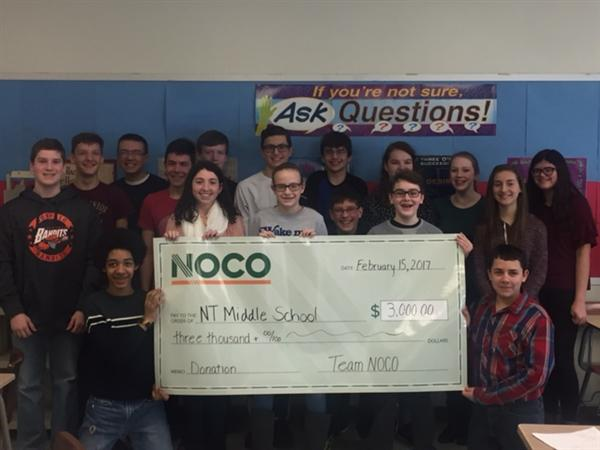 NOCO Secures Grants to North Tonawanda Schools