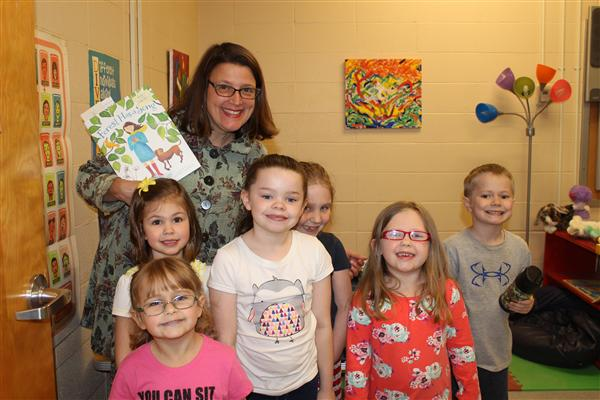 Amy Ludwig VanDerwater, Children's Author, Poet and Writing Teacher, Visits Drake Elementary