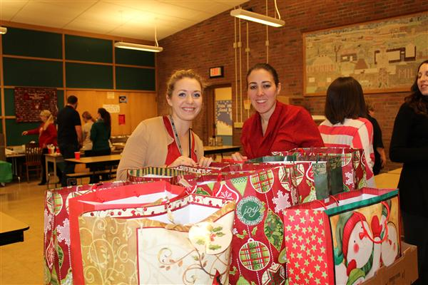 Drake Staff Plays Santa to St. Luke's Mission of Mercy