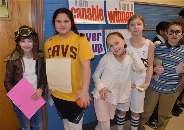 Drake Elementary Students Bring Famous Figures to Life