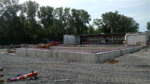 Foundation for future MS gym