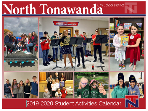 North Tonawanda Student Activities Calendar 2019-20